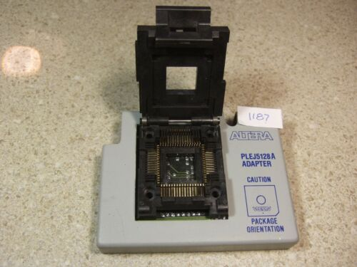 Altera PLEJ5128A Adapter w/Yamaichi IC51-0684-390 Socket