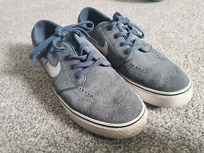 Blue Nike Janoski In Size 8