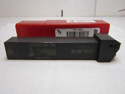 Dorian Stvol16-3d Threading Tool Holder Left Hand Cut Style V Tnmc 38 I.c.