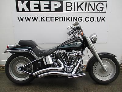 2008 Harley-Davidson FLSTFI 1584CC FAT BOY 27,997 MILES,HISTORY,STAGE 1 TUNE