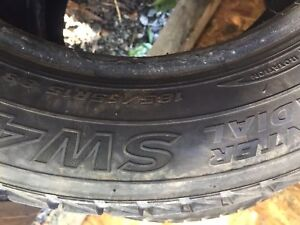 3 studded winter tires 185 65.15