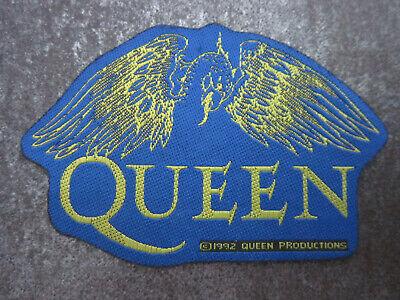 Queen Rock Band Music Memorabilia Woven Cloth Patch Badge (L32S)