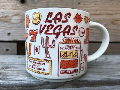 Starbucks Coffee Been There Series Mug 2018 LAS VEGAS Nevada 14 oz cup BNIB