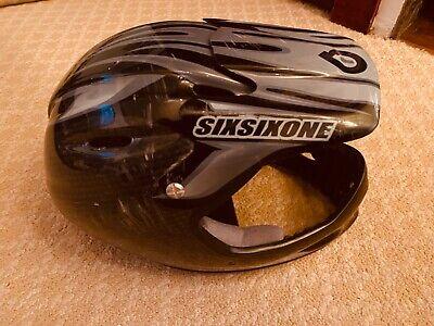 661carbon bike full face helmet used  661 Full Face Helmet