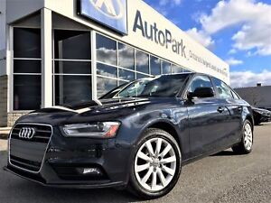 2014 Audi A4 2.0 Komfort AWD   Heated Leather   Power Driver'...