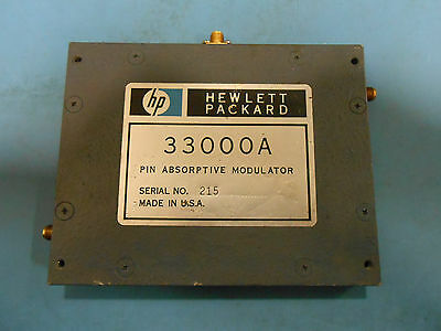 Hp 33305 Programmable Attenuator110 Db