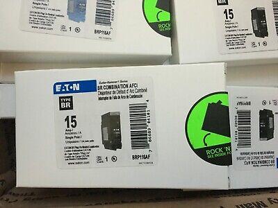 8 X Eaton Cutler Hammer Brp115af Arc Fault Combination Afci Breaker 15a New