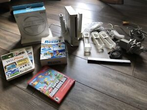 Wii game system with games