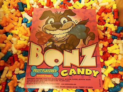 Bonz Dog Bones Candy Coated Dextrose 1 Lb 453g Dubble Bubble Concord Nut Free