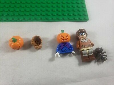 Lego Scooby-Doo Velma Minifigure Hair & Face Plus Pumpkin 75901 75904