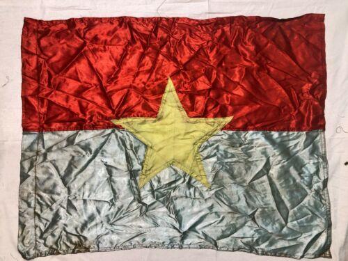 FLAG ,  1 VC Vietcong Flag,  RED FLAG W YELLOW , NVA FLAG  VIET CONG,