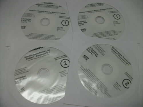 Lenovo Windows 7 Recovery Discs DVD
