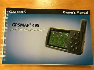 Aviation GPS garmin 495