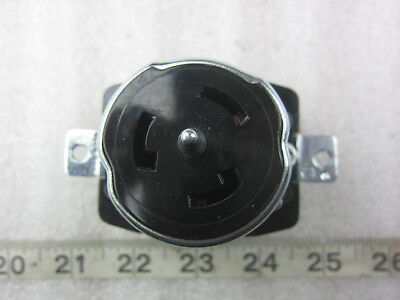 Hubbell Hbl Cs8369 50a 250v 3 Twist-lock Receptacle Non-nema Used
