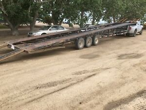 1999 Big Tex 54 foot car holder trailer