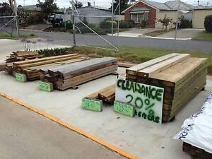 Assorted eco wood sleepers, permapine timber sleepers & posts Goolwa Alexandrina Area Preview