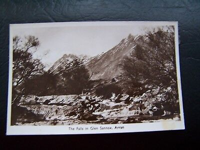 POSTCARD, GLEN SANNOX, ARRAN, SCOTLAND, THE FALLS, VINTAGE