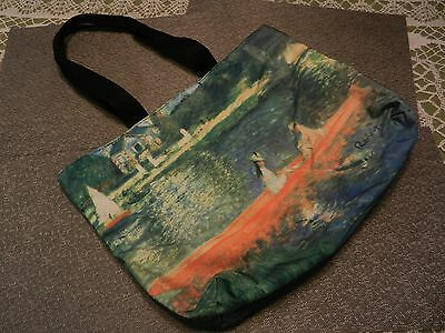 Large Microfiber ZIPPERED TOTE BAG/SHOPPER -