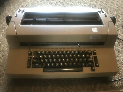 Mint Ibm Selectric Ii Typewriter Wself Correction Ibm Cover. Buyer Pays Ship