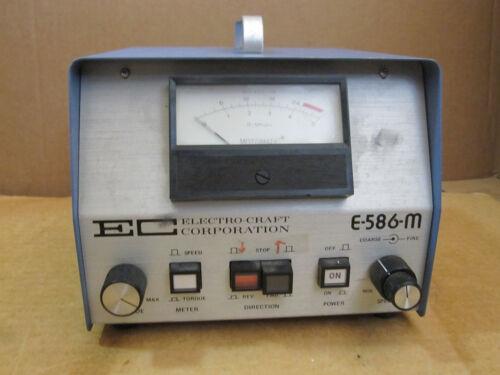 Ec Electro-craft E-586-m Motomatic Speed Controller