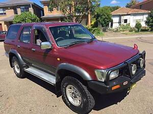 Turbo Diesel 4x4 - Toyota Hilux Surf Lidcombe Auburn Area Preview
