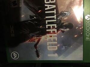Battlefield 1 for Xbox one mint condition for trade