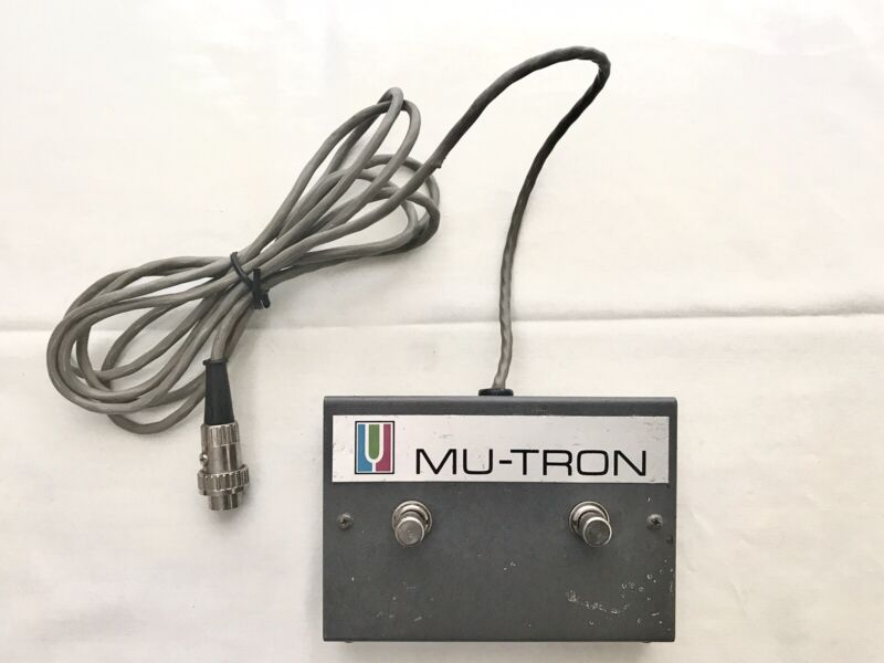 2 Button Footswitch for Mu-Tron Bi-Phase