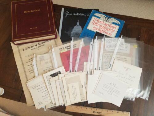 1925 to1960 US Congress Representative Albert Carter Archive Oakland California