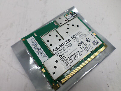Cisco 2 4Ghz 11 Mbps Wireless Wifi Wlan Network Card Module 802 11 B Air Mp20b
