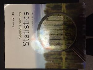 Seeing through statistics 4th edition