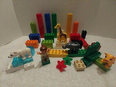 LEGO Duplo 4962 Baby Zoo AND 6176 Duplo Basic Bricks Deluxe - TWO Complete sets Lego Duplo Basic Bricks