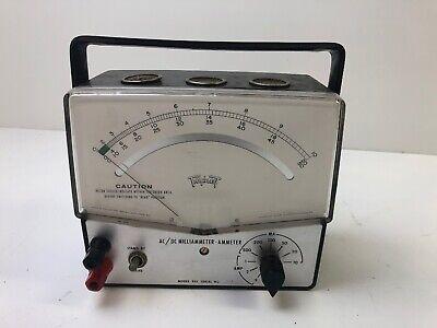 Triplet Model 835 - Milliammeter-ammeter