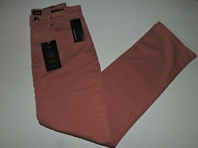 Women's Lee Vintage Modern Canyon Rose High Rise Straight Leg Ankle Jeans 27 NWT