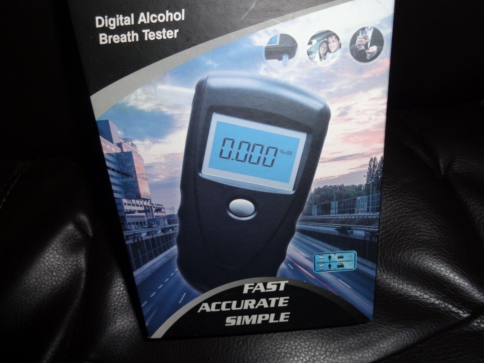 EEK-Brand AD8800 Digital Alcohol Breath Tester Breathalyzer
