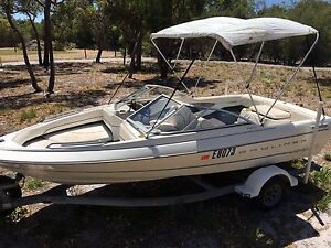 BAYLINER CAPRI FAMILY FISHING CRUISING WAKEBOARD BOWRIDER BOAT Karnup Rockingham Area Preview