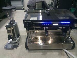 RANCILIO CLASS 9 USB 2 TALL CUP COFFEE MACHINE AND MAZZER GRINDER Lugarno Hurstville Area Preview