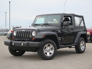 2011 Jeep Wrangler Sport 4x4, Air Conditioning, LOW KMS