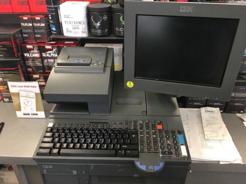 IBM 4800-743 POS Terminal Bundle