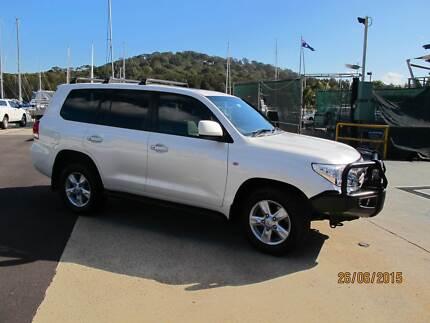 2012 Toyota LandCruiser Wagon Sahara Pymble Ku-ring-gai Area Preview