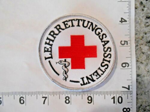 Rare and Vintage German Teaching rescue assistant   patch    FREE  SHIPPING!