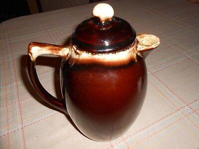 Vintage Pfaltzgraff Brown Drip Gourmet NO 303 - MINT Condition Coffee / Tea Ect.