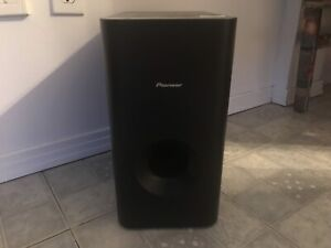 Subwoofer pioneer S-w3700-k 8ohms sell/trade for vinyl or games