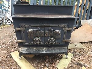 Woodsman antique stove