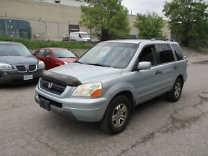 2003 Honda Pilot EX-L ~ LEATHER ~ SUNROOF ~ 7 PASS.