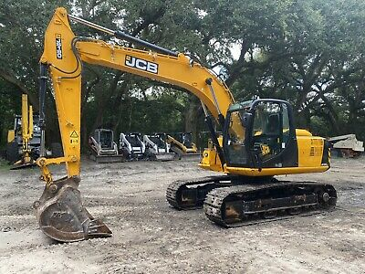 2017 Jcb Js190 Nlc Excavator - Ac Enclosed Cab - Radio - Back Up Camera