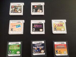 Nintendo 3DS DS games: Zelda, Lego, Layton