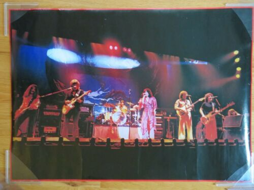 "1979 JEFFERSON STARSHIP ""JANE"" Poster Mickey Thomas Paul Kantner David Freiberg"