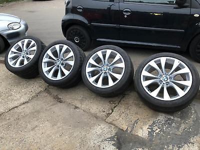 BMW X5 M SPORT 20 INCH WHEELS OEM ALLOYS X6,X3,E53, E70,TYRES, 227. POWDERCOATED