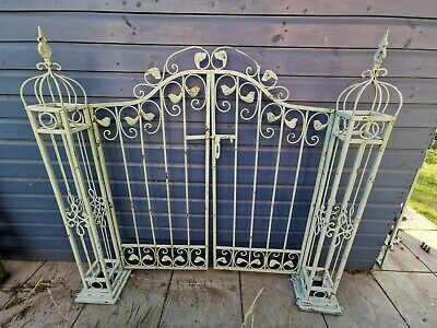 Decorative Garden Gates  - Green Shabby Chic Style