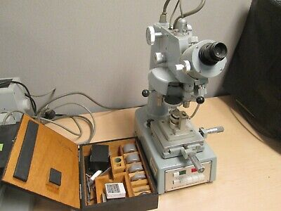 Vickers Micro Hardness Tester Type M By Shimadzu
